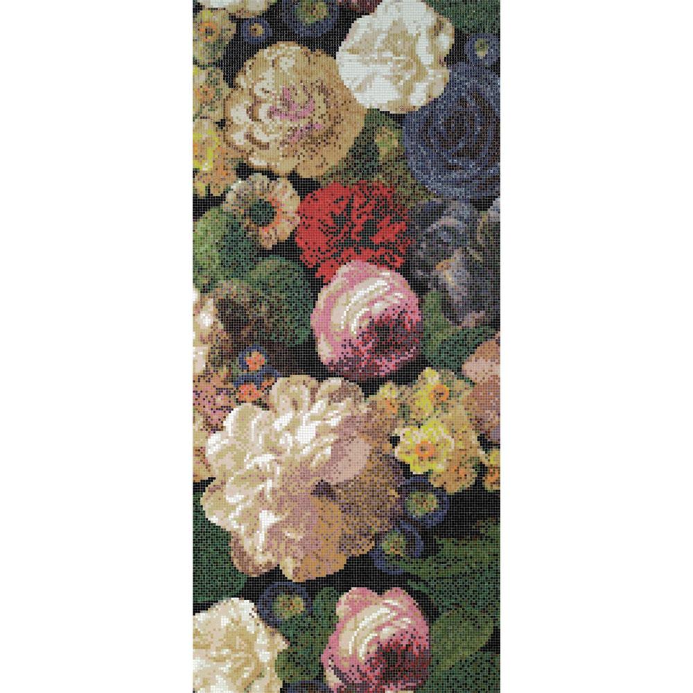 Bisazza Mosaico Decori 10 - Bouquet Bouquet A Tile & Stone