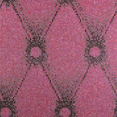 Bisazza Mosaico Decori 10 - Chester Pink Tile & Stone