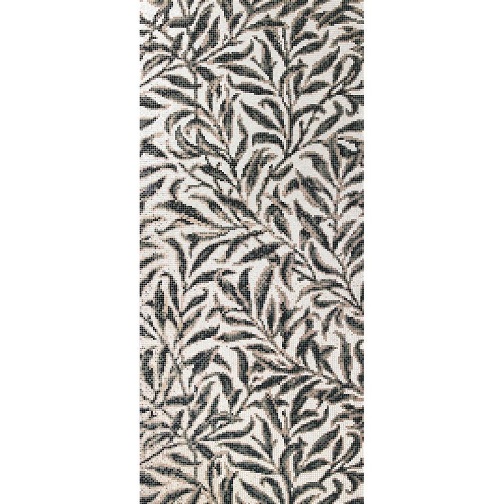 Bisazza Mosaico Decori 10 - Morris Oro Bianco Tile & Stone