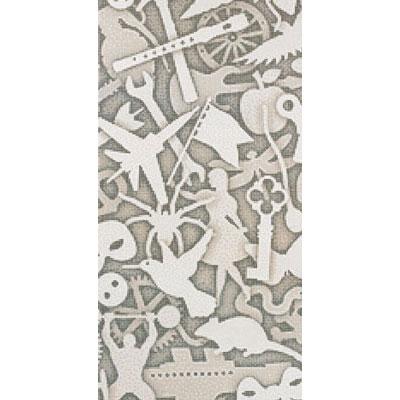 Bisazza Mosaico Decori 10 - Silhouette Silhouette A Tile & Stone