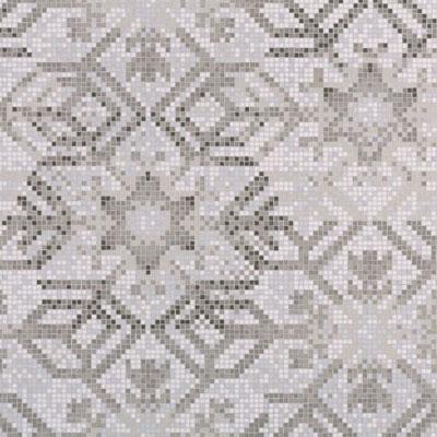 Bisazza Mosaico Decori 10 - Snowflake Oro Tile & Stone