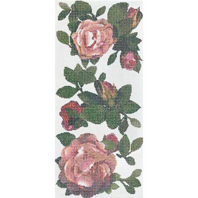 Bisazza Mosaico Decori 10 - Springrose Bianco A Tile & Stone
