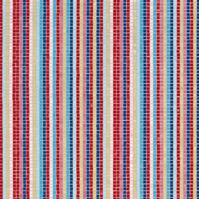 Bisazza Mosaico Decori 10 - Stripes Summer Tile & Stone