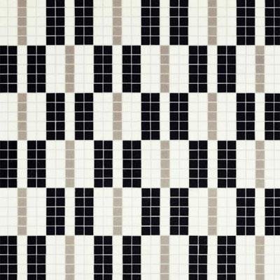 Bisazza Mosaico Decori 20 - Alternance Noir Blanc Tile & Stone
