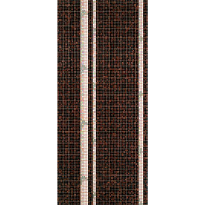 Bisazza Mosaico Decori 20 - Bamboo Black B Tile & Stone