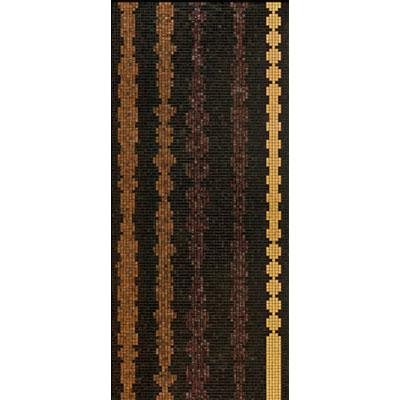 Bisazza Mosaico Decori 20 - Columns Brown A Tile & Stone