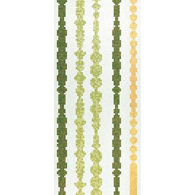 Bisazza Mosaico Decori 20 - Columns Green A Tile & Stone