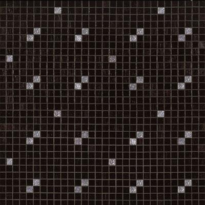 Bisazza Mosaico Decori 20 - Diagonale Nero Oro Tile & Stone