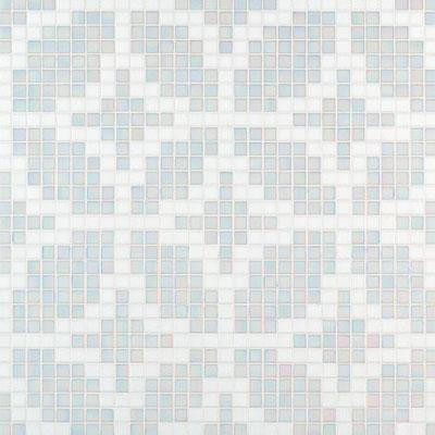 Bisazza Mosaico Decori 20 - Etoiles Bianco Tile & Stone