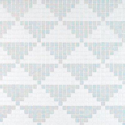 Bisazza Mosaico Decori 20 - Giza Bianco Tile & Stone