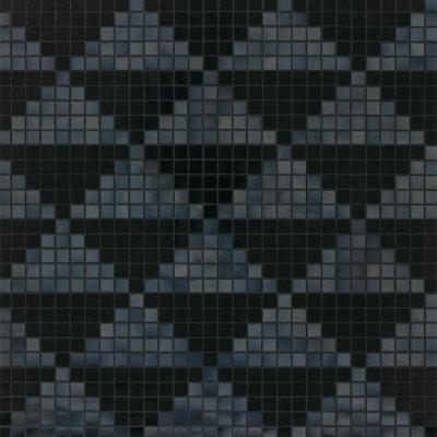 Bisazza Mosaico Decori 20 - Giza Nero Tile & Stone