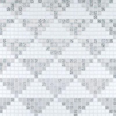 Bisazza Mosaico Decori 20 - Giza Oro Bianco Tile & Stone
