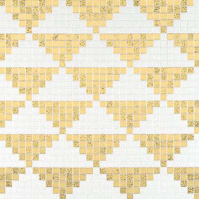 Bisazza Mosaico Decori 20 - Giza Oro Giallo Tile & Stone