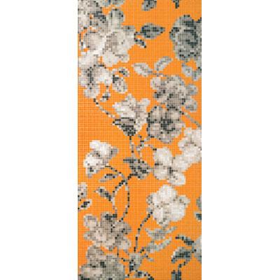Bisazza Mosaico Decori 20 - Hanami Arancio A Tile & Stone