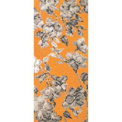 Bisazza Mosaico Decori 20 - Hanami Arancio B Tile & Stone