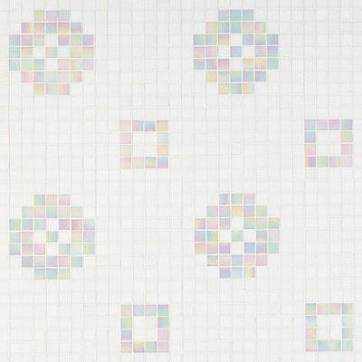 Bisazza Mosaico Decori 20 - Petit Four Bianco Tile & Stone