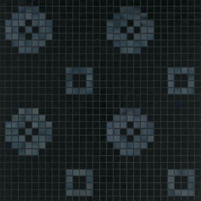 Bisazza Mosaico Decori 20 - Petit Four Nero Tile & Stone