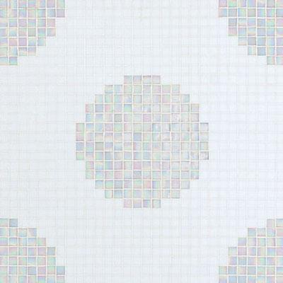 Bisazza Mosaico Decori 20 - Pois Bianchi Tile & Stone