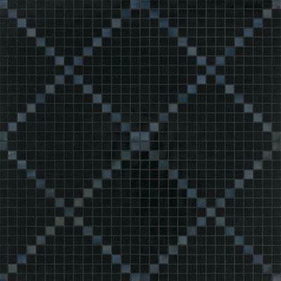 Bisazza Mosaico Decori 20 - Rete Nera Tile & Stone