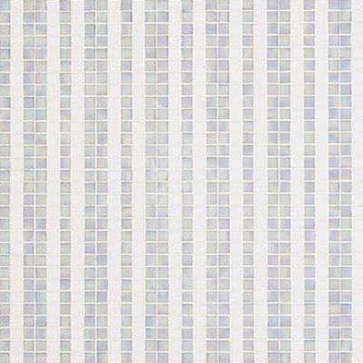 Bisazza Mosaico Decori 20 - Righe Bianche Tile & Stone