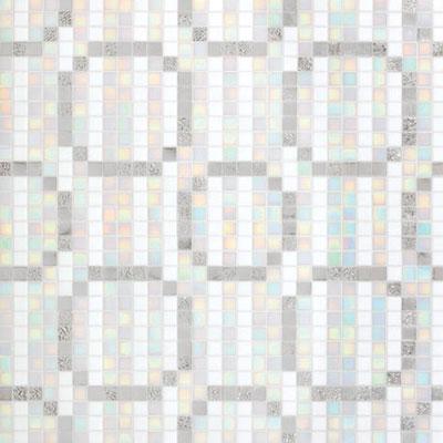 Bisazza Mosaico Decori 20 - Rings Oro Bianco Tile & Stone