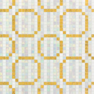 Bisazza Mosaico Decori 20 - Rings Oro Giallo Tile & Stone