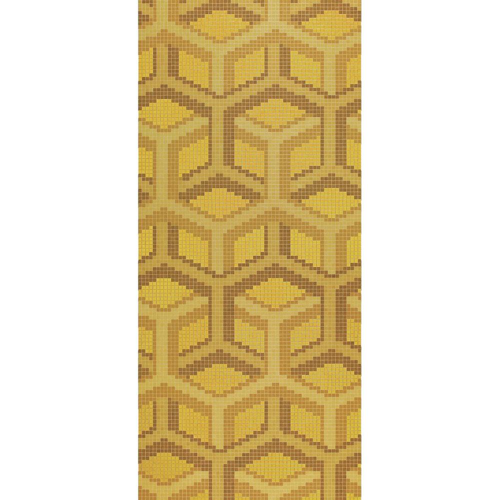 Bisazza Mosaico Decori 20 - Suite Oro Giallo Tile & Stone