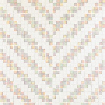 Bisazza Mosaico Decori 20 - Twill Bianco Tile & Stone