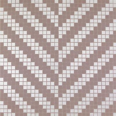 Bisazza Mosaico Decori 20 - Twill Oro Bianco Tile & Stone