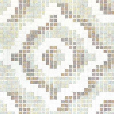 Bisazza Mosaico Decori 20 - Velvet White Tile & Stone