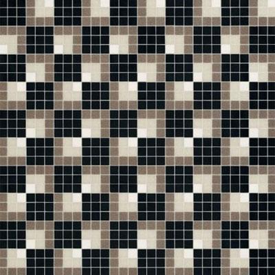 Bisazza Mosaico Decori 20 - Vibration Noire Tile & Stone