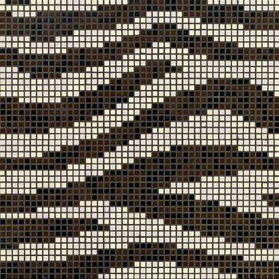 Bisazza Mosaico Decori Opus Romano - Animal Zebra Tile & Stone