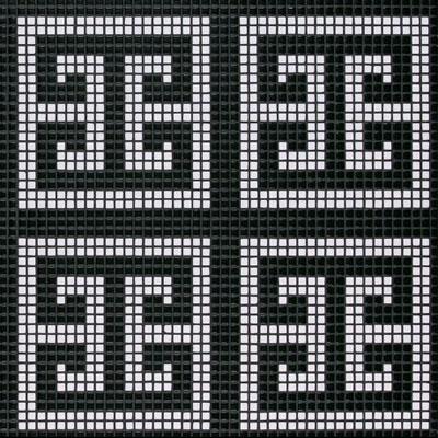 Bisazza Mosaico Decori Opus Romano - Key White Tile & Stone