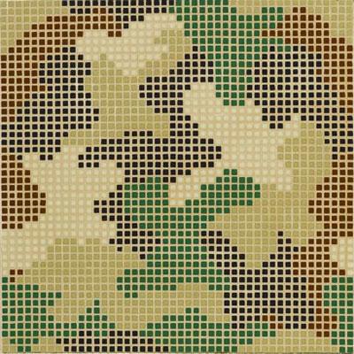 Bisazza Mosaico Decori Opus Romano - Mimetico A Tile & Stone