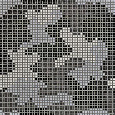 Bisazza Mosaico Decori Opus Romano - Mimetico B Tile & Stone
