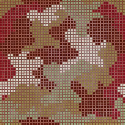 Bisazza Mosaico Decori Opus Romano - Mimetico C Tile & Stone