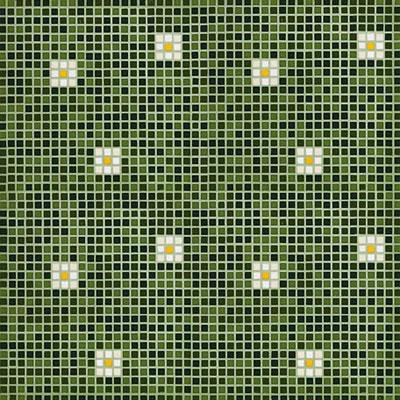 Bisazza Mosaico Decori Opus Romano - Pratoline/Primule Pratoline 3 Tile & Stone