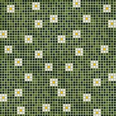 Bisazza Mosaico Decori Opus Romano - Pratoline/Primule Pratoline 8 Tile & Stone