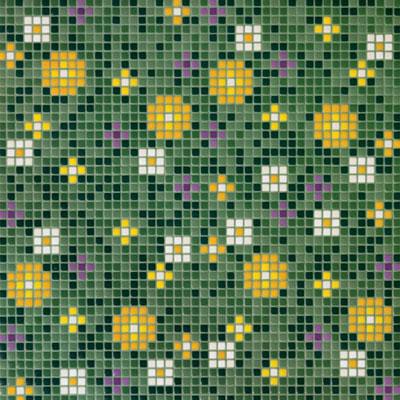 Bisazza Mosaico Decori Opus Romano - Pratoline/Primule Primule 2 Tile & Stone