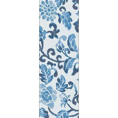 Bisazza Mosaico Decori Opus Romano - Summer Flowers Blue A Tile & Stone
