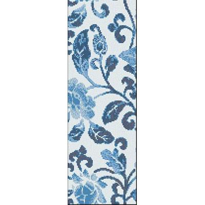 Bisazza Mosaico Decori Opus Romano - Summer Flowers Blue B Tile & Stone