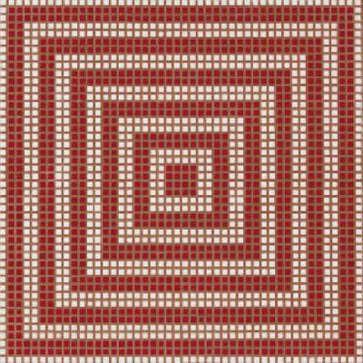 Bisazza Mosaico Decori Opus Romano - Wenge Rosso Tile & Stone