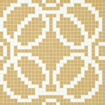 Bisazza Mosaico Decori VTC 20 - Circles Beige Tile & Stone