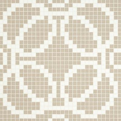 Bisazza Mosaico Decori VTC 20 - Circles Grey Tile & Stone
