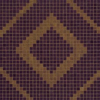 Bisazza Mosaico Decori VTC 20 - Frames Brown Tile & Stone
