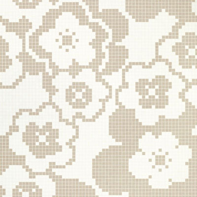 Bisazza Mosaico Decori VTC 20 - Garden Grey Tile & Stone