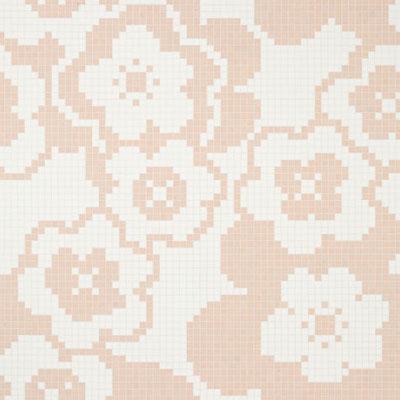 Bisazza Mosaico Decori VTC 20 - Garden Pink Tile & Stone
