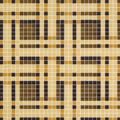 Bisazza Mosaico Decori VTC 20 - Gate Brown Tile & Stone