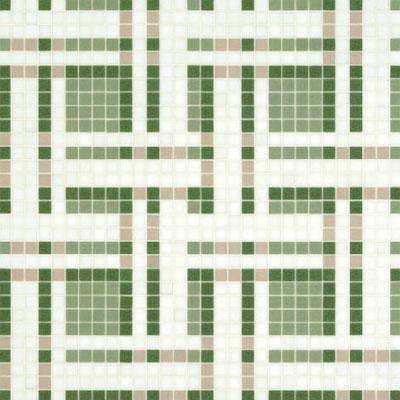 Bisazza Mosaico Decori VTC 20 - Gate Green Tile & Stone