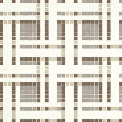 Bisazza Mosaico Decori VTC 20 - Gate Grey Tile & Stone